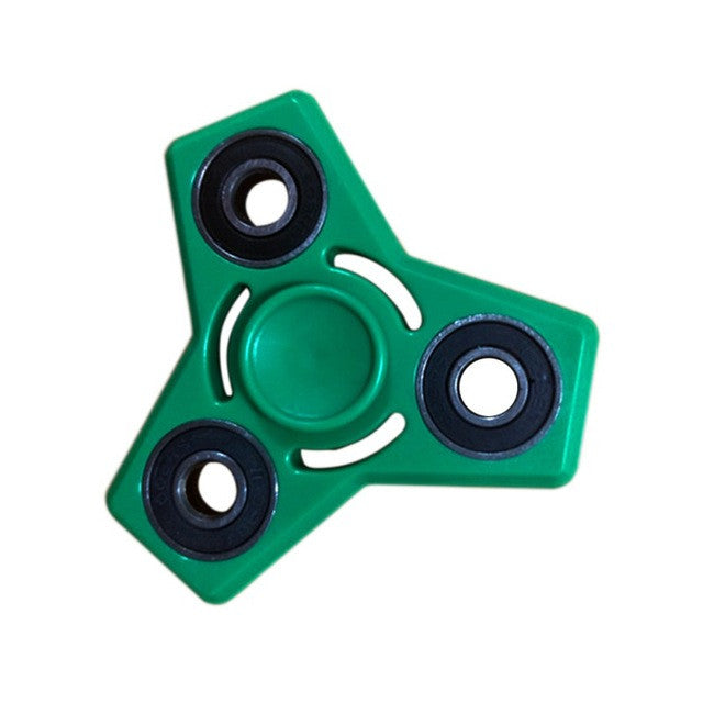 Plastic EDC Hand Tri-Spinners For Autism and ADHD Anxiety Stress Relief Focus Toys