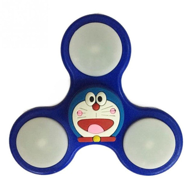 New Anime Cartoon Character Gyro Hand Spinner For ADHD Autism Anti Anxiety Toy