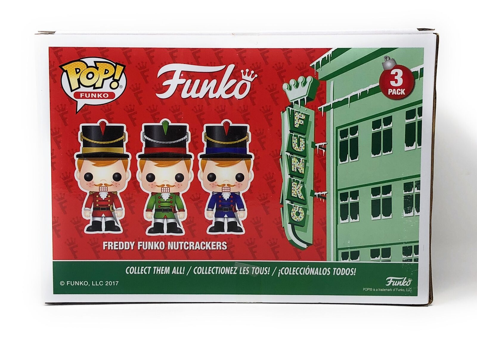 Funko POP! Freddy Funko Nutcrackers 3-Pack - Limited Edition