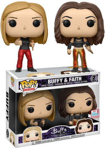Funko - Funko Pop! Buffy & Faith - 2017 Fall Convention Exclusive - 2 Pack