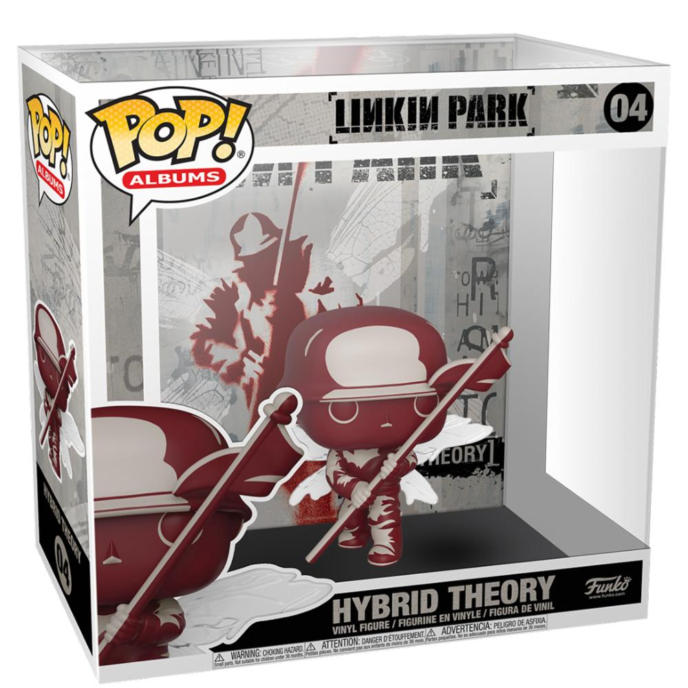 Funko - IN STOCK: Funko POP Albums:  Linkin Park - Hybrid Theory With PPJoe Protector