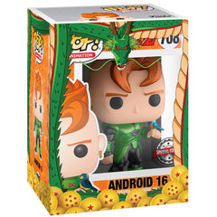 Funko - IN STOCK: Funko POP Animation: DBZ - Android 16 (Metallic)with DBZ Sleeve