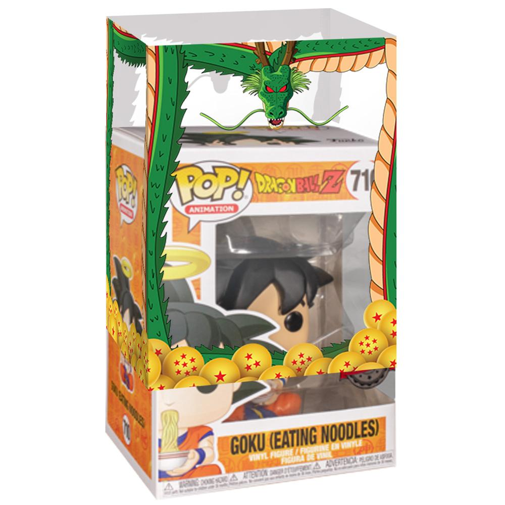 Funko - IN STOCK: Funko POP Animation: DBZ - Goku Eating Noodles With DBZ Sleeve