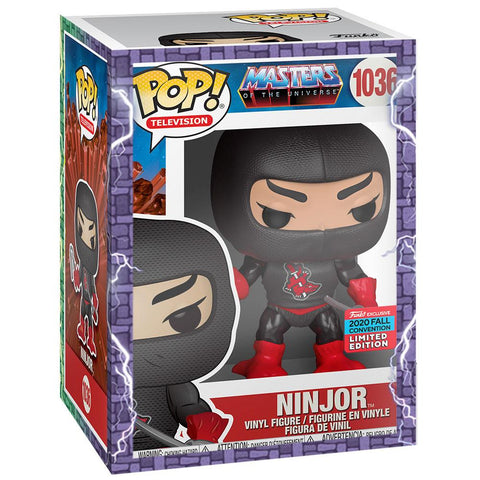 Funko - IN STOCK: Funko POP Animation: MOTU - Ninjor With PPJoe MOTU Sleeve