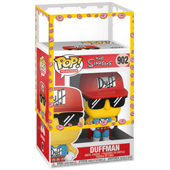 Funko - IN STOCK: Funko POP Animation: Simpsons - Duffman With PPJoe Simpsons Sleeve
