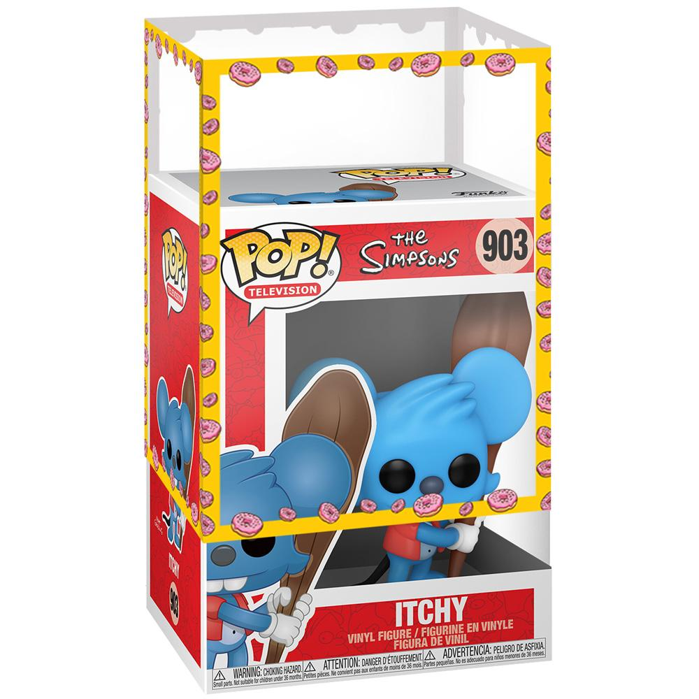 Funko - IN STOCK: Funko POP Animation: Simpsons - Itchy With PPJoe Simpsons Sleeve