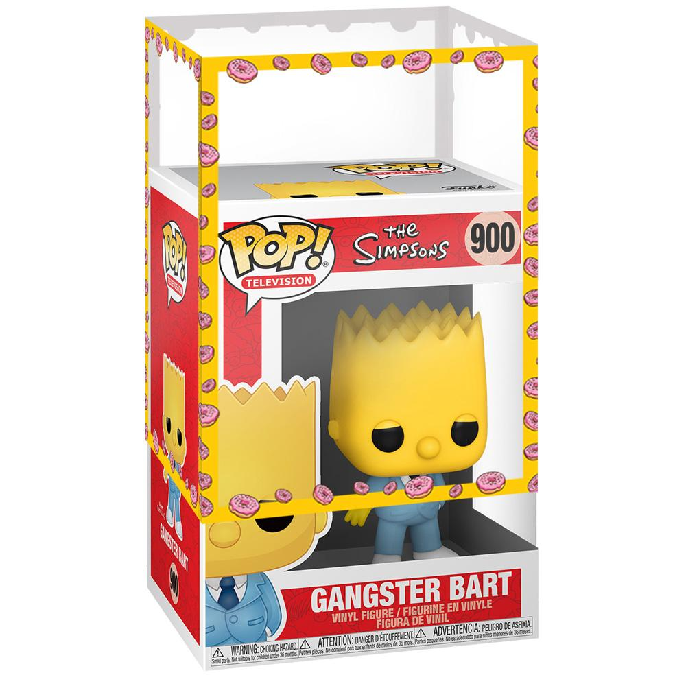 Funko - IN STOCK: Funko POP Animation: Simpsons - Mafia Bart With PPJoe Simpsons Sleeve