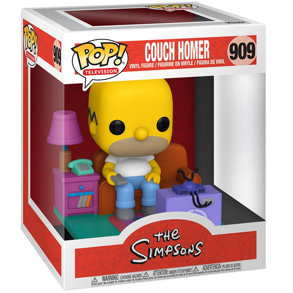 Funko - IN STOCK: Funko POP Deluxe: Simpsons- Homer Watching TV With PPJoe Protector
