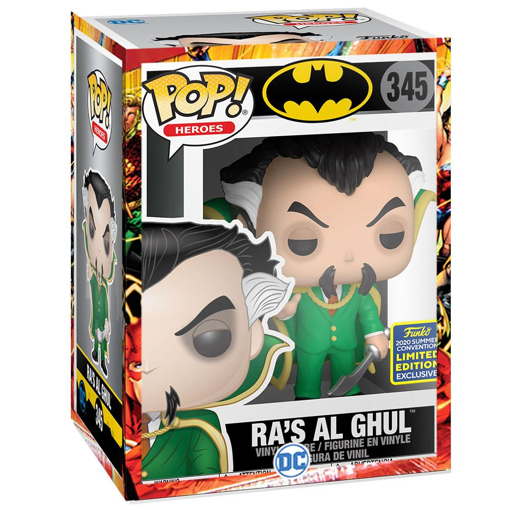 Funko - IN STOCK: Funko POP Heroes: DC Comics - Ra's Al Ghul With PPJoe DC Sleeve