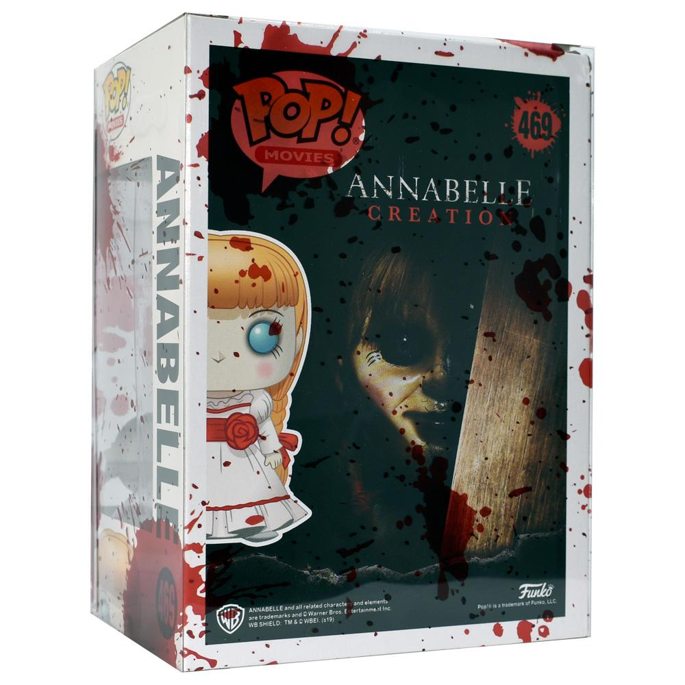 Funko - IN STOCK: Funko POP Movies: Annabelle - Cute Doll With PPJoe Blood Splattered Sleeve