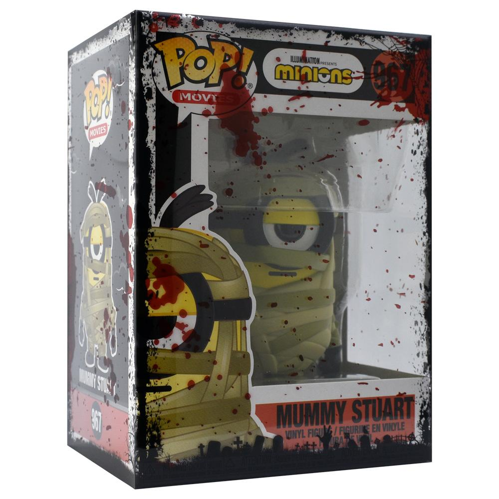Funko - IN STOCK: Funko POP Movies: Minions - Mummy Stuart With PPJoe Halloween Sleeve