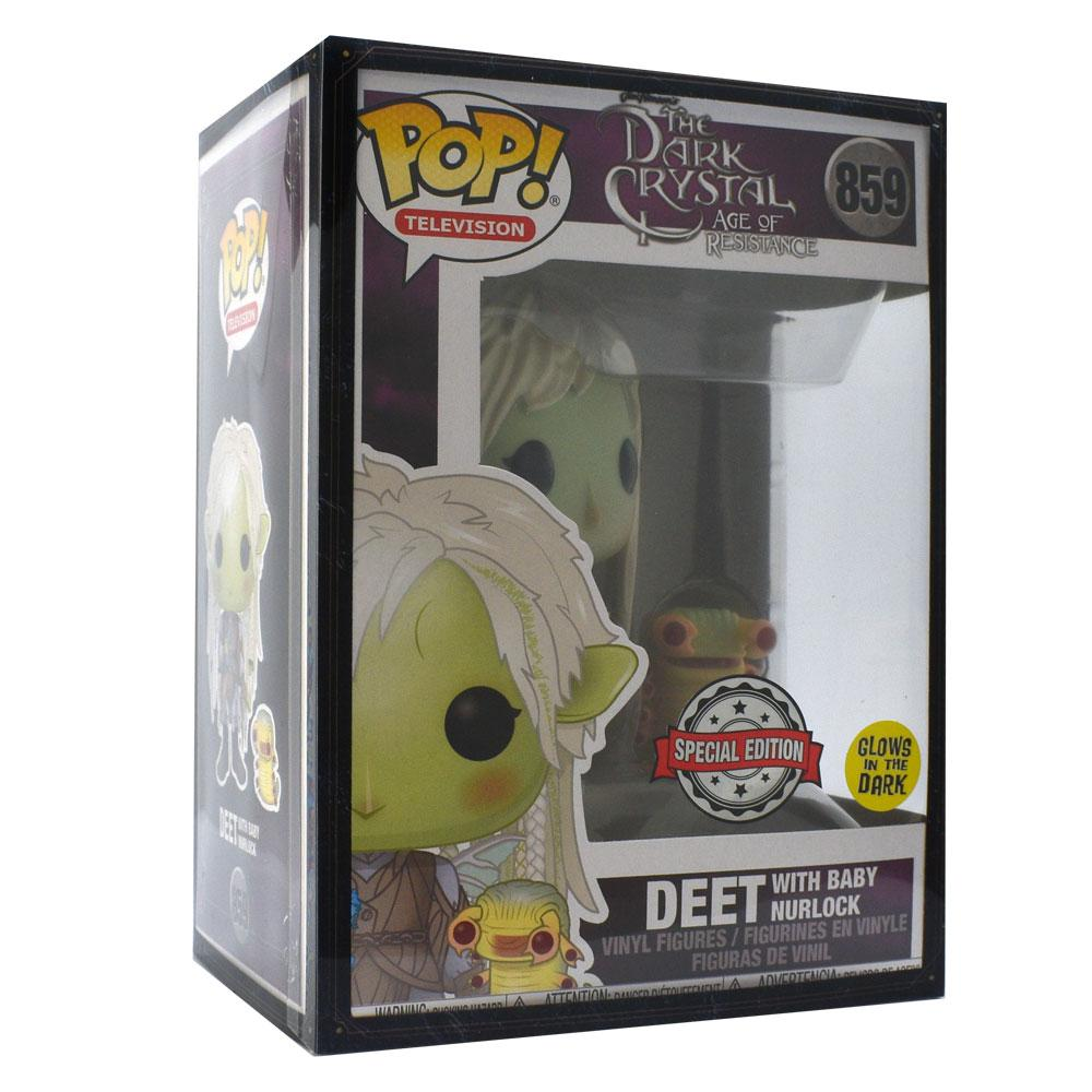 Funko - IN STOCK: Funko POP TV: Dark Crystal - Deet W/wings And Glowing Buddy With PPJoe Fantasy Sleeve