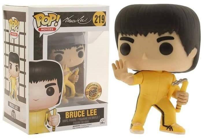 Funko Pop - Funko Pop! Bruce Lee - Enter The Dragon - Bait Exclusive #219