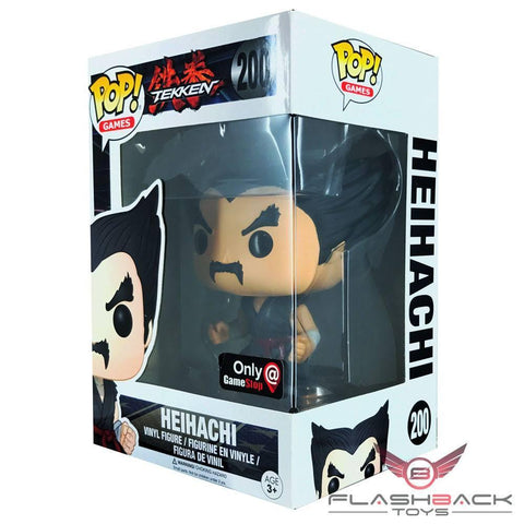 Funko Pop - FUNKO POP! Games: Tekken Young Heihachi - GameStop Exclusive #200