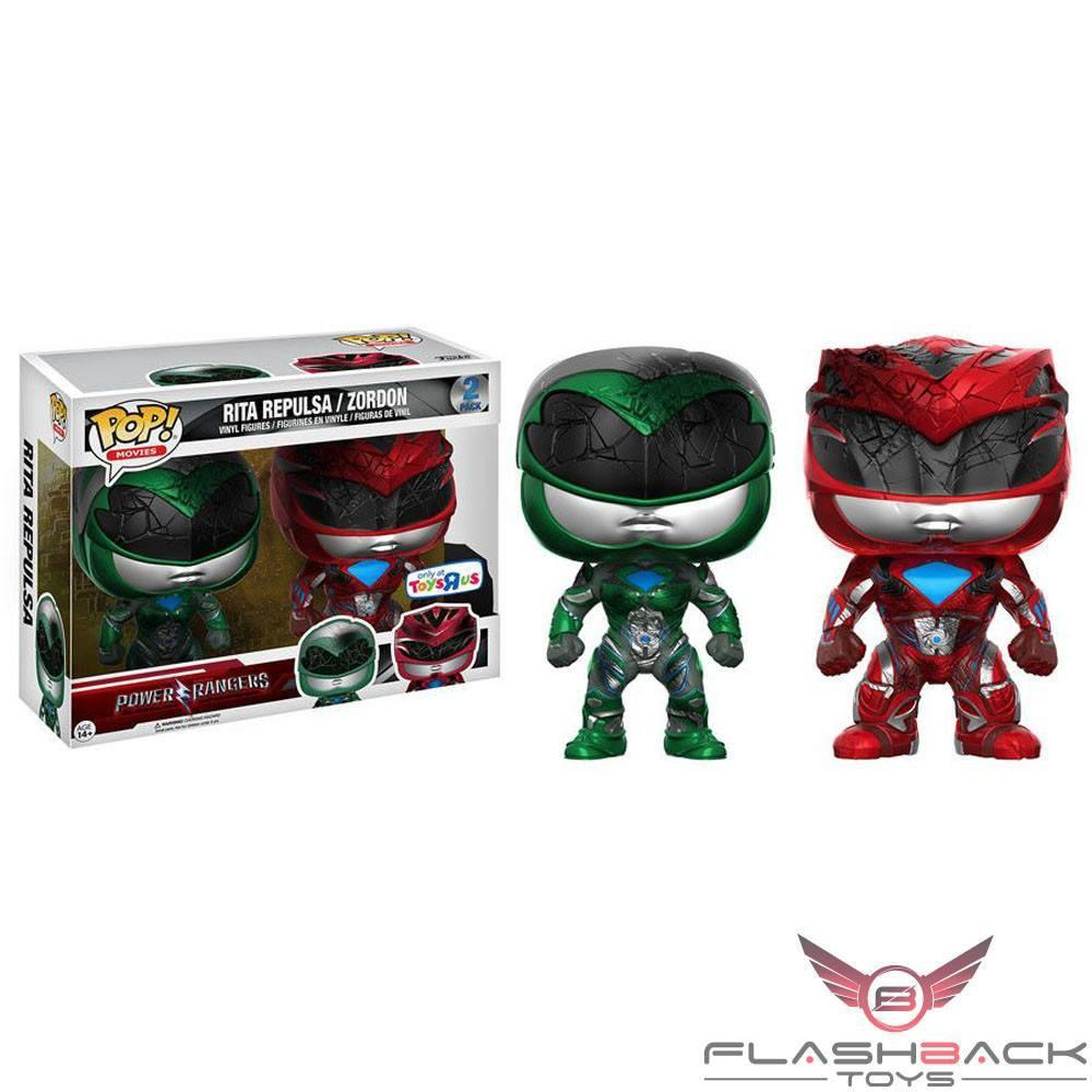 Funko Pop - FUNKO POP! Movies: Power Rangers Rita Repulsa / Zordon - Toys R Us Exclusive #2