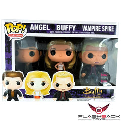 Funko Pop - FUNKO POP! Television: Angel, Buffy & Vampire Spike - HMV Exclusive