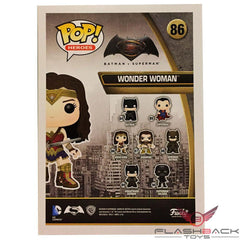 Funko Pop - FUNKO POP! Vinyl: DC: BvS Wonder Woman Patina - Supanova Exclusive #86