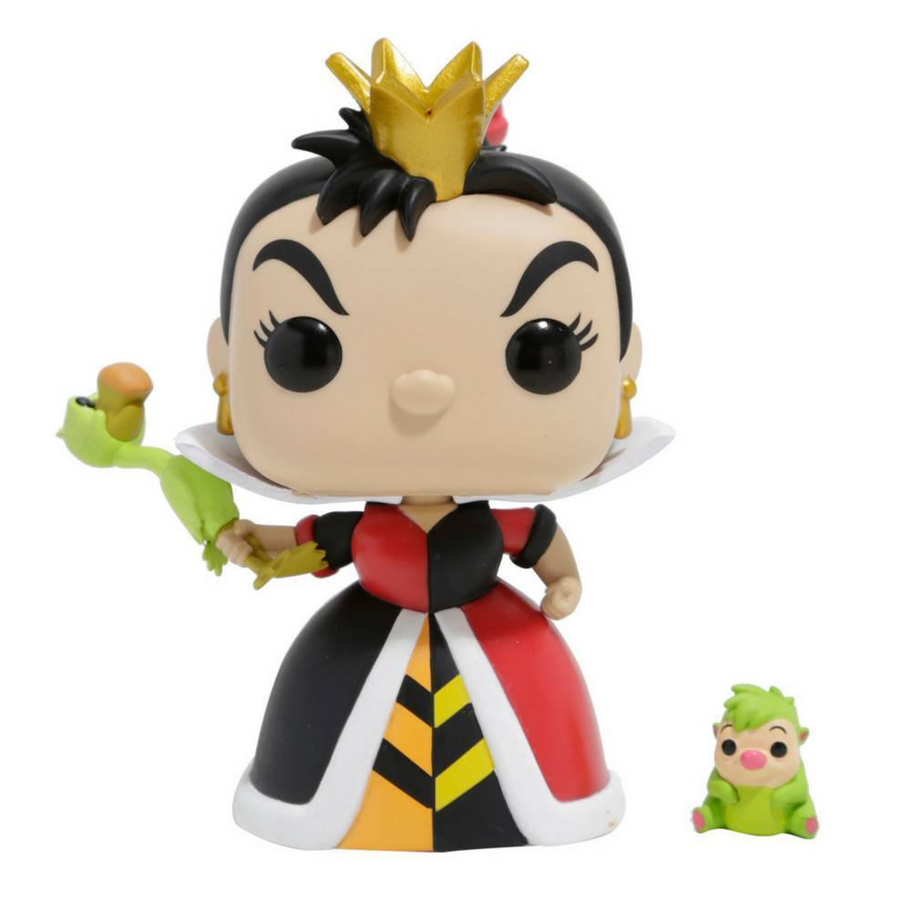 Funko Pop - FUNKO POP! Vinyl: Disney Villains Queen Of Hearts (Croquet) Exclusive #234