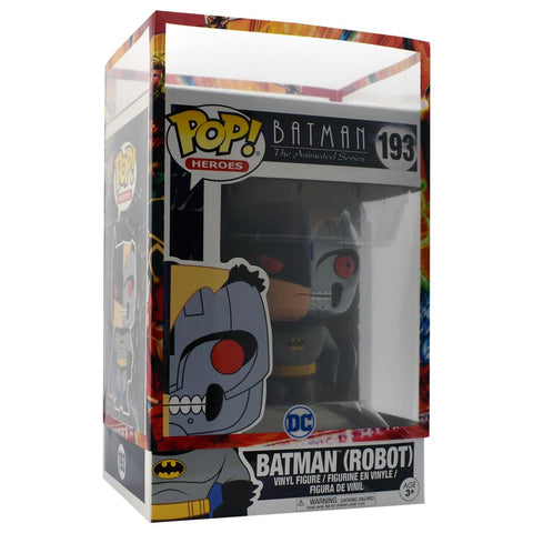 Funko Pop - IN STOCK: Funko POP! Vinyl: DC: Batman Animated: BTAS Robot Batman #193