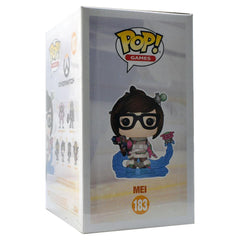 Funko Pop - IN STOCK: Funko POP! Vinyl: Games: Overwatch Mei Mid-blizzard #183