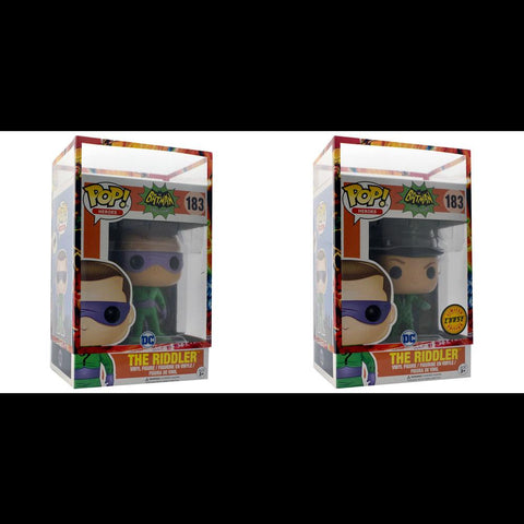 Funko Pop - IN STOCK: Funko POP! Vinyl: Heroes: Batman 1966 Riddler #183 With Chance Of Chase