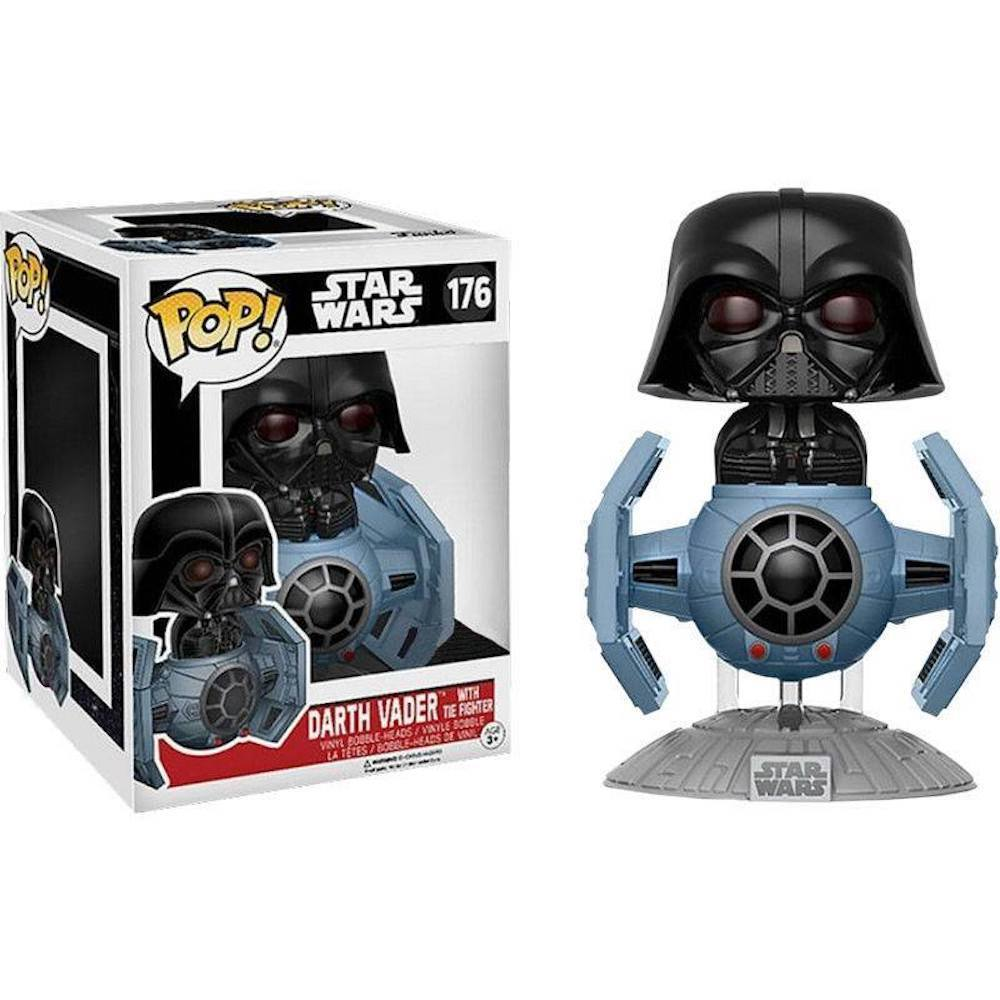 Funko Pop - POP! Deluxe: Star Wars: Tie Fighter W/ Darth Vader (Exc) #176