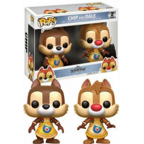 Funko Pop - POP! Vinyl 2-Pack: Kingdom Hearts: Chip & Dale