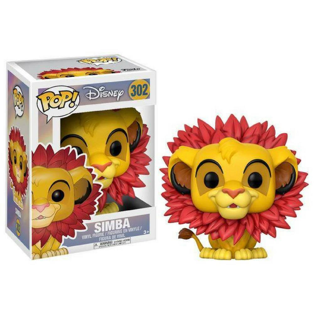 Funko Pop - POP! Vinyl: Disney: Lion King Simba With Mane #302