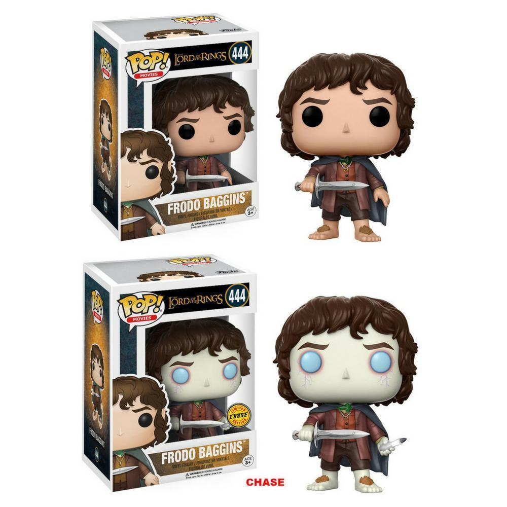 Funko Pop - Pop! Vinyl: Lord Of The Rings POP! Movies Vinyl Figures Frodo Baggins Chance Of Chase #444