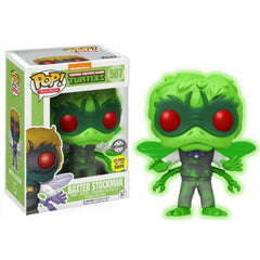 Funko Pop - POP! Vinyl: Television: Teenage Mutant Ninja Turtles: Baxter Stockman GITD (exc) #507