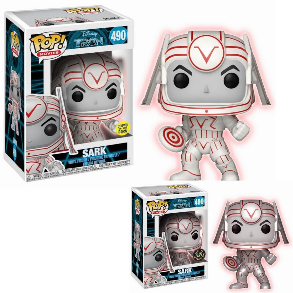 Funko Pop - POP! Vinyl: Tron: Sark GITD Glow In The Dark With Chance Of Chase #490