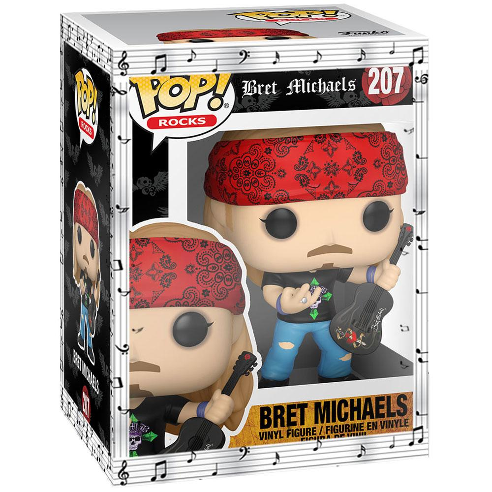 Funko - PRE-ORDER: Funko Bret Michaels With Chance Of A Chase With Musical Sleeve