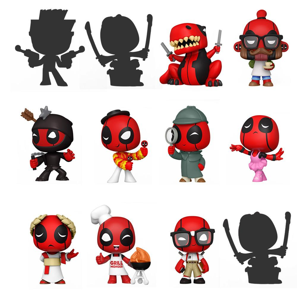 Funko - PRE-ORDER: Funko Mystery Minis: Deadpool 30th [Blind Box]