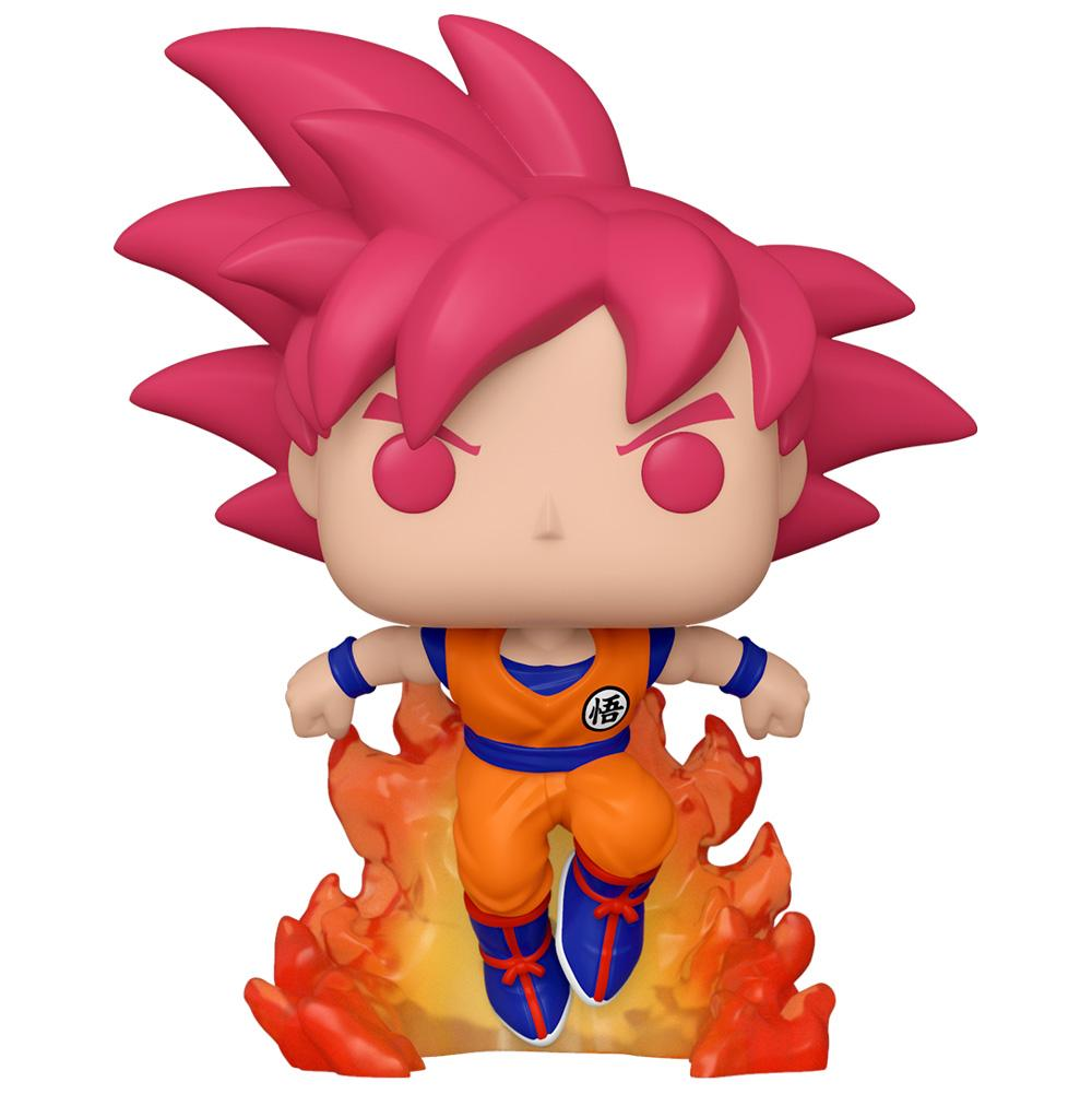 Funko - PRE-ORDER: Funko POP Animation: DBZ - Super Saiyan God Goku With PPJoe DBZ Sleeve