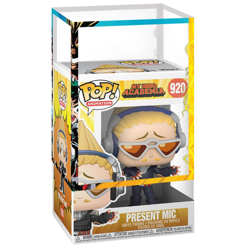Funko - PRE-ORDER: Funko POP Animation: MHA - Present Mic With MHA Sleeve