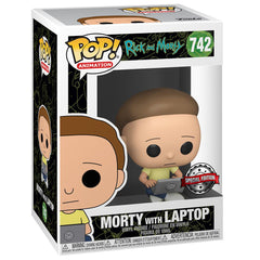 Funko - PRE-ORDER: Funko POP Animation: Rick & Morty - Morty With Laptop
