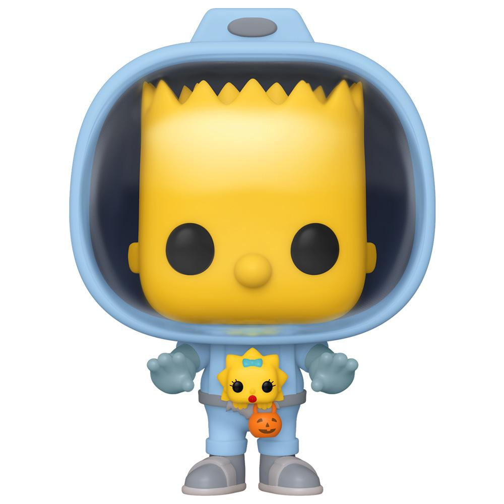 Funko - PRE-ORDER: Funko POP Animation: Simpsons Bart With Maggie With PPJoe Halloween Sleeve