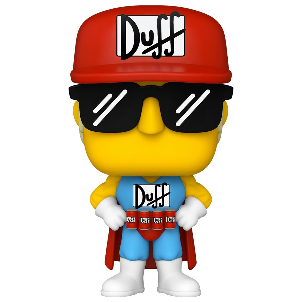 Funko - PRE-ORDER: Funko POP Animation: Simpsons - Duffman With PPJoe UV Sleeve