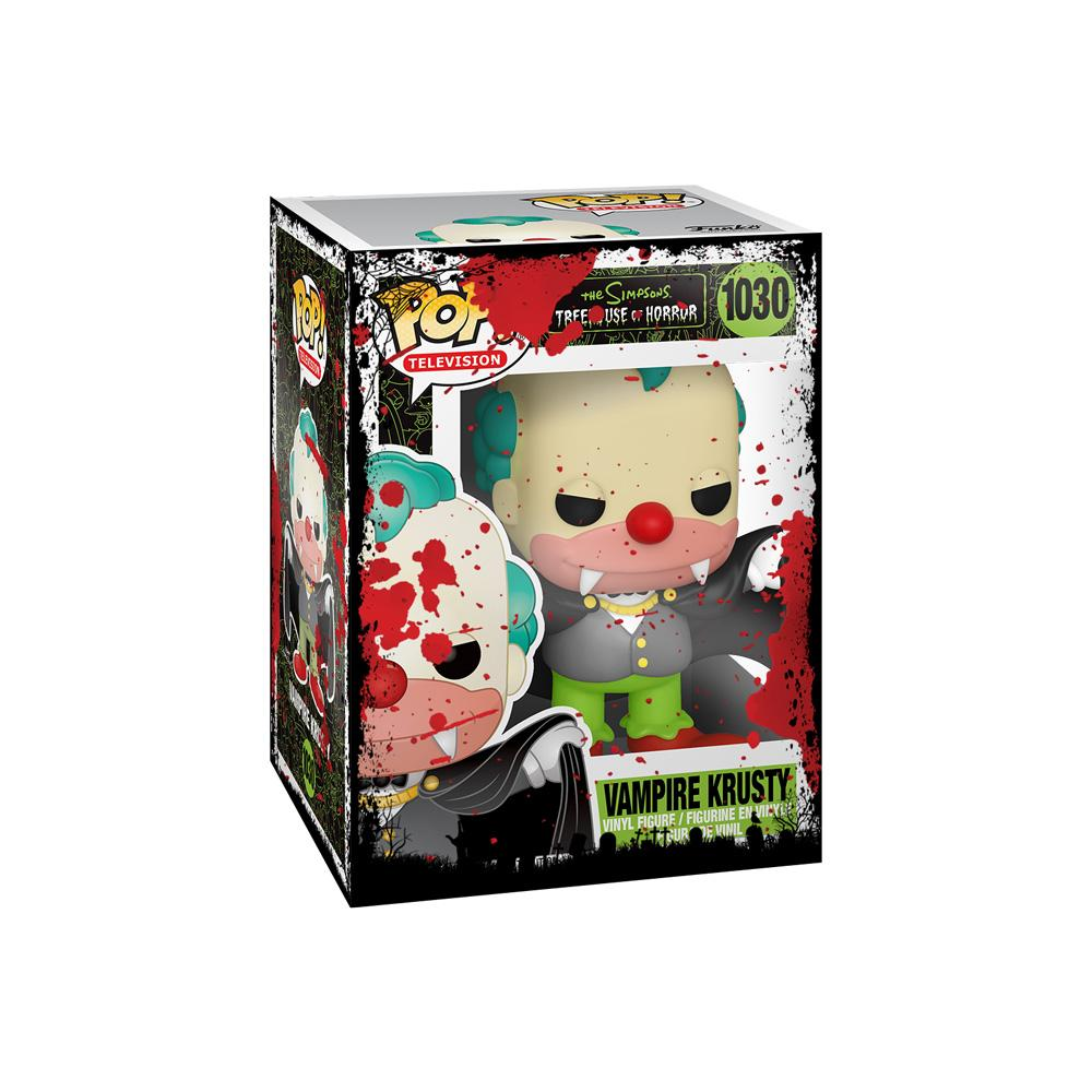 Funko - PRE-ORDER: Funko POP Animation: Simpsons Vampire Krusty With PPJoe Halloween Sleeve