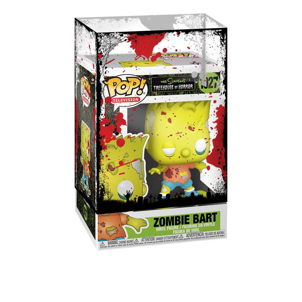 Funko - PRE-ORDER: Funko POP Animation: Simpsons Zombie Bart With PPJoe Halloween Sleeve