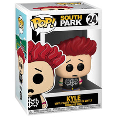 Funko - PRE-ORDER: Funko POP Animation: South Park -Jersey Kyle With 0.50mm PPJoe Protector