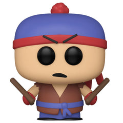 Funko - PRE-ORDER: Funko POP Animation: South Park - Shadow Hachi Stan With 0.50mm PPJoe Protector