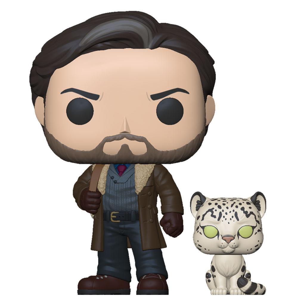 Funko - PRE-ORDER: Funko POP & Buddy: His Dark Materials - Asriel With Stelmaria With Fantasy Sleeve