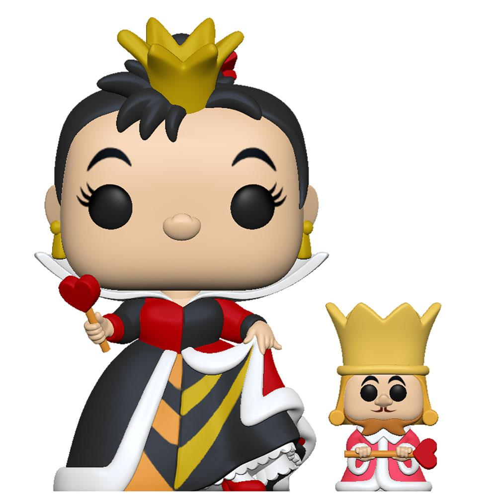 Funko - PRE-ORDER: Funko POP Disney: Alice 70th – Queen With King With Disney Sleeve