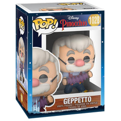 Funko - PRE-ORDER: Funko POP Disney: Pinocchio - Pinocchio - Geppetto With Accordion With Disney Sleeve
