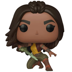 Funko - PRE-ORDER: Funko POP Disney: Raya And The Last Dragon - Raya (warrior Pose) With Disney Sleeve