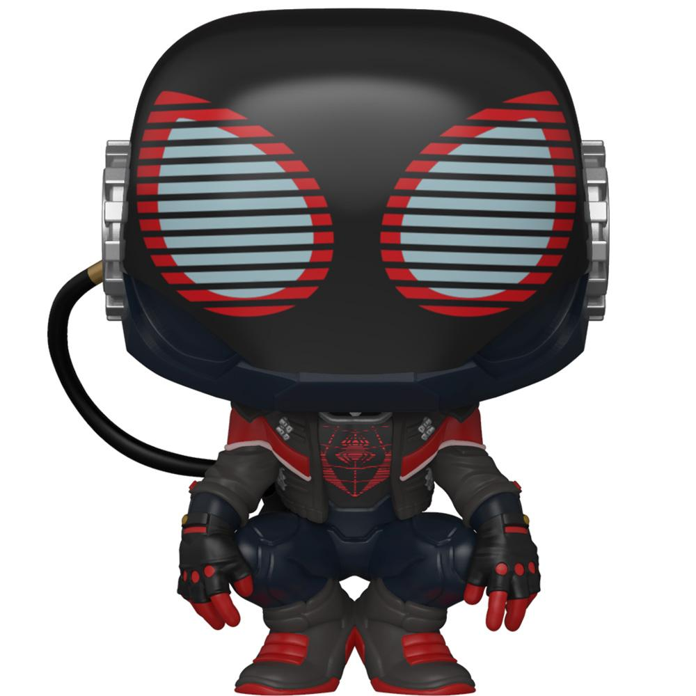 Funko - PRE-ORDER: Funko POP Games: Miles Morales - 2020 Suit With Marvel Sleeve