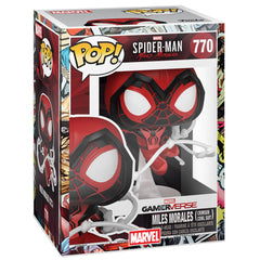 Funko - PRE-ORDER: Funko POP Games: Miles Morales - Crimson Cowl Suit With Marvel Sleeve