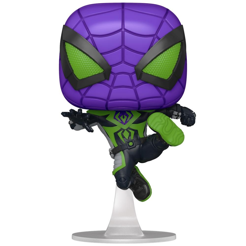 Funko - PRE-ORDER: Funko POP Games: Miles Morales - Purple Reign Suit (Metallic) With Marvel Sleeve