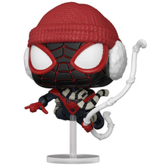 Funko - PRE-ORDER: Funko POP Games: Miles Morales - Winter Suit With Marvel Sleeve
